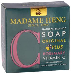 Madame Heng Мыло с Розмарином Мадам Хенг Natural Balance plus Rosemary & Vitamin C, 150 г