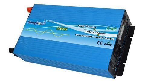 Преобразователь тока (инвертор) KongSolar KPC12/2000 (чистый синус)