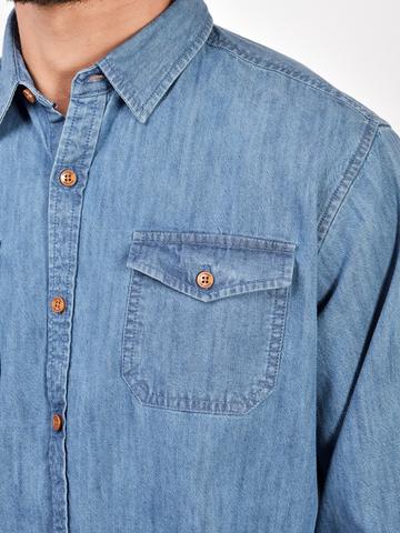 Рубашки д/р муж.  M922-02F-51GR
