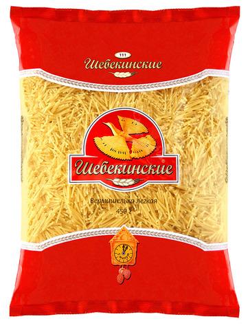 """Макаронные изделия """"Шебекинские""""  вермешелька легкая №111 450 г"""