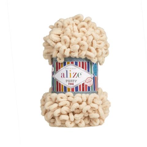 Купить Пряжа Ализе Пуффи Файн Код цвета 310 | Интернет-магазин пряжи «Пряха»