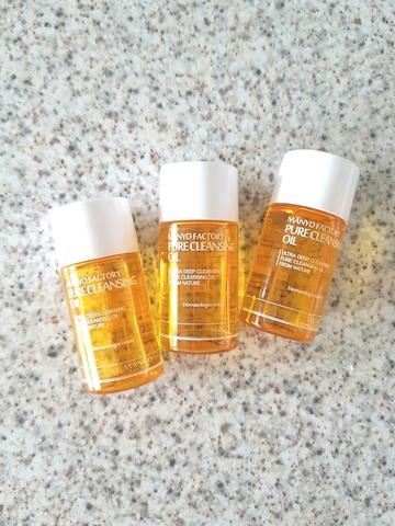 Гидрофильное масло для снятия макияжа, 20 мл / Manyo Factory Pure Cleansing Oil