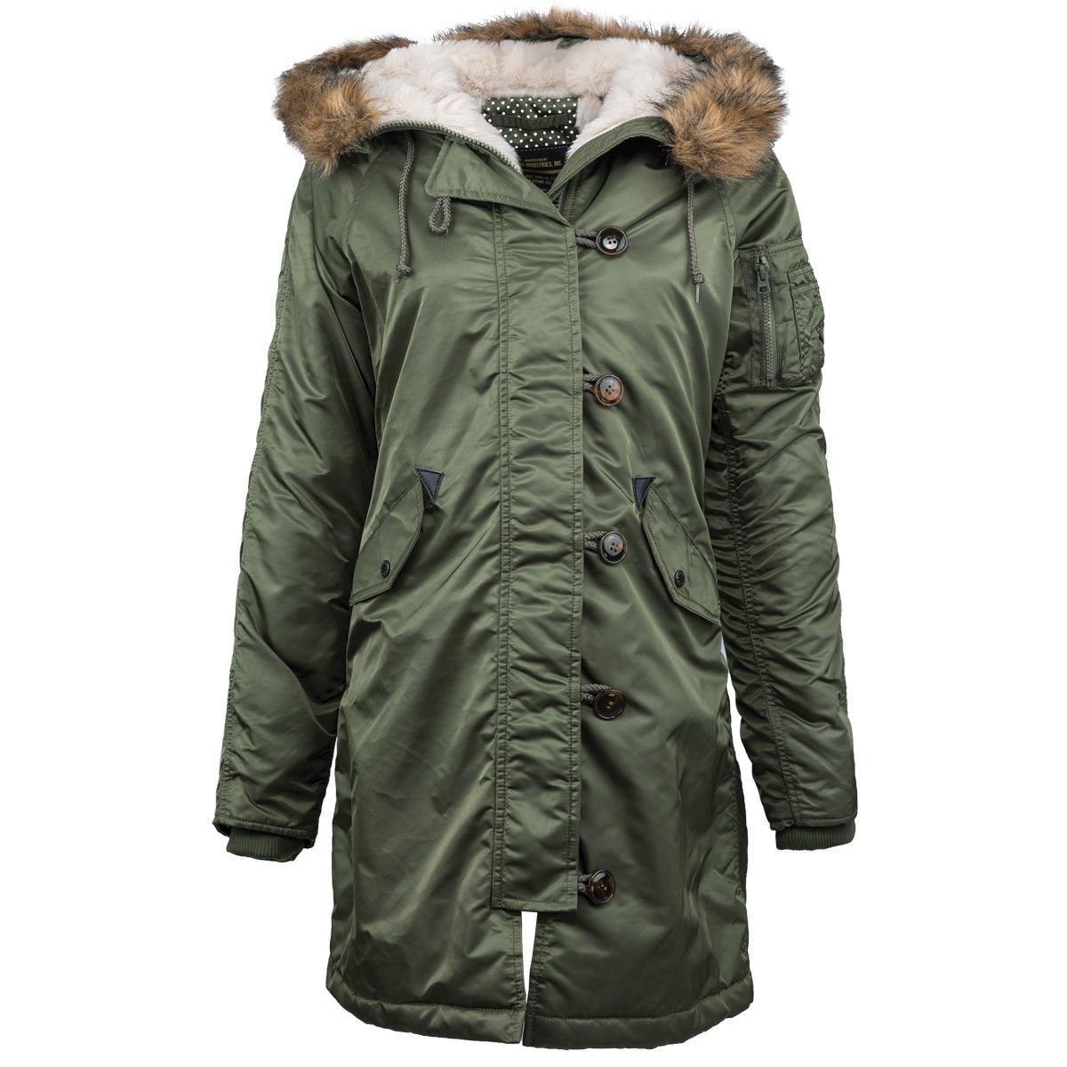 Куртка Аляска Женская - Elyse Parka 2015 (зеленая - s.green)