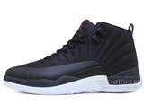 Кроссовки Мужские Air Jordan 12 Retro Jumpmen Black White