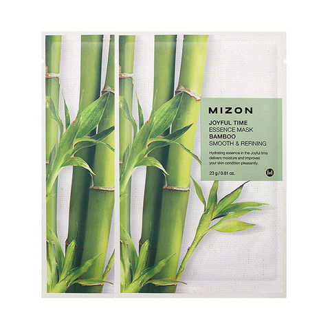 MIZON  Маска  с экстрактом бамбука joyful time essence mask bamboo 23 g.