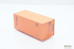 Контейнер 20 футов МОРФЛОТ, оранжевый. 1:87