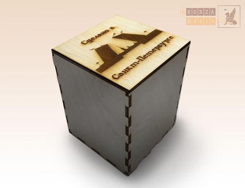 коробка из дерева большая