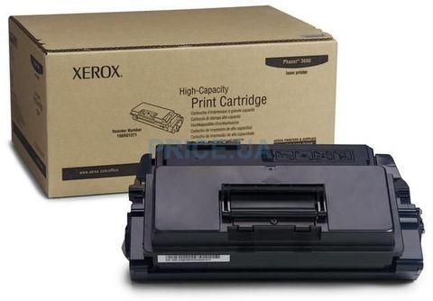 Картридж XEROX Phaser 3600 - тонер-картридж большой емкости на 14000 страниц для принтеров Xerox Phaser 3600B/3600N 106R01371