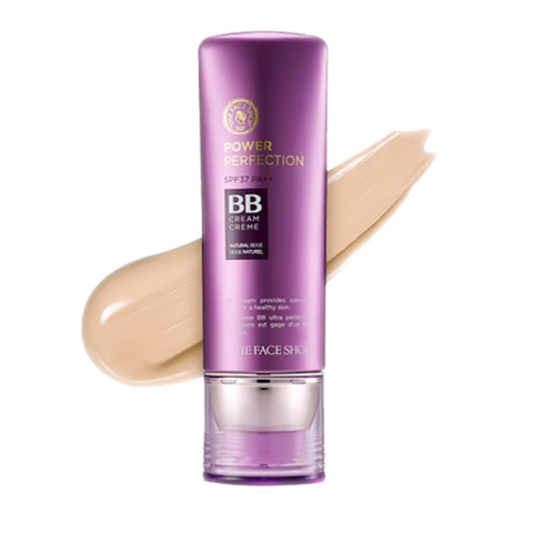 THE FACE SHOP Power Perfection BB Cream SPF37PA++, 40 gm.