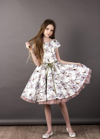 "Коктейльное платье ""Summer Flower"""