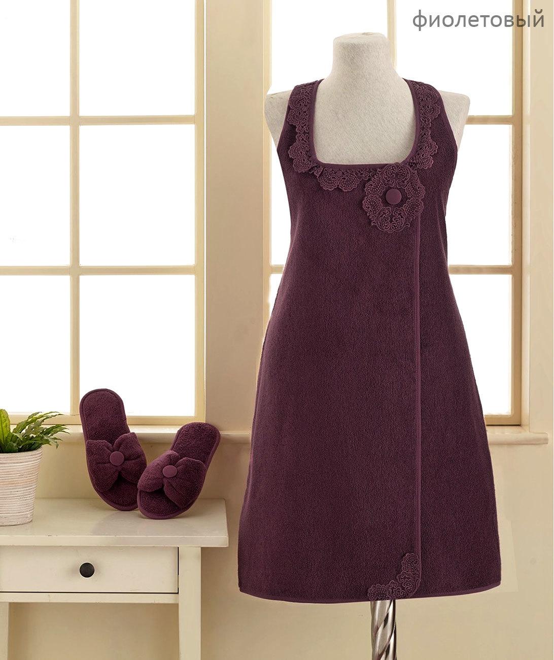 Наборы для Сауны Набор женский для сауны 3 предмета  IRIS  фиолетовый Soft cotton Турция iris-osn-nabor-dop2-sauny-soft.jpg