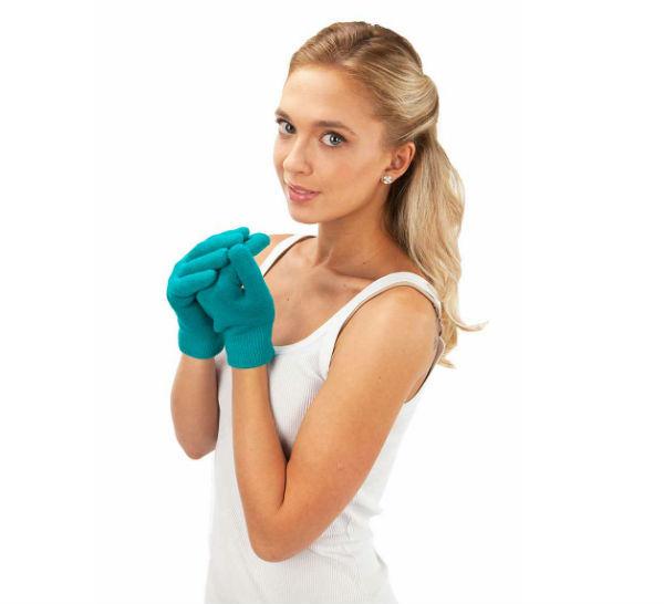 перчатки с силиконовой подкладкой