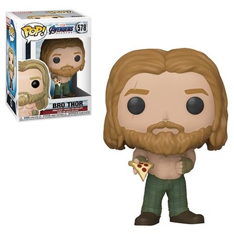 Фигурка Funko POP! Bobble: Marvel: Avengers Endgame: Thor w/Pizza 45142