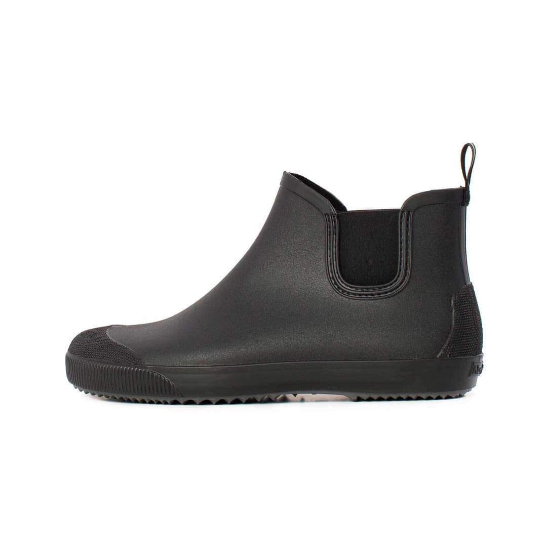 Резиновые ботинки Nordman Beat черные с серой подошвой
