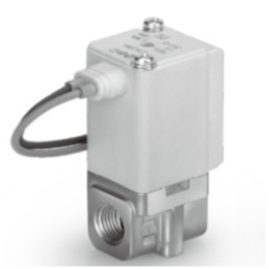 VDW14JZ1DXB  2/2 Клапан Н.З., на вакуум, М5, 12VDC, нерж