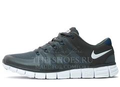 Кроссовки Мужские Nike Free Run 5.0 FLYWIRE Grey White
