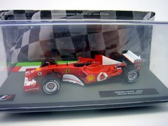 Ferrari F2002 2002 Michael Schumacher F1 1:43 Formula 1 Auto Collection Centauria #2