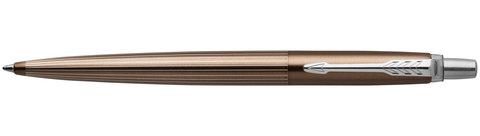 Шариковая ручка Parker Jotter Premium Carlisle Brown Pinstripe CT123