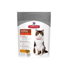 Hill's Science Plan Hairball Control сухой корм для кошек для выведения шерсти с курицей