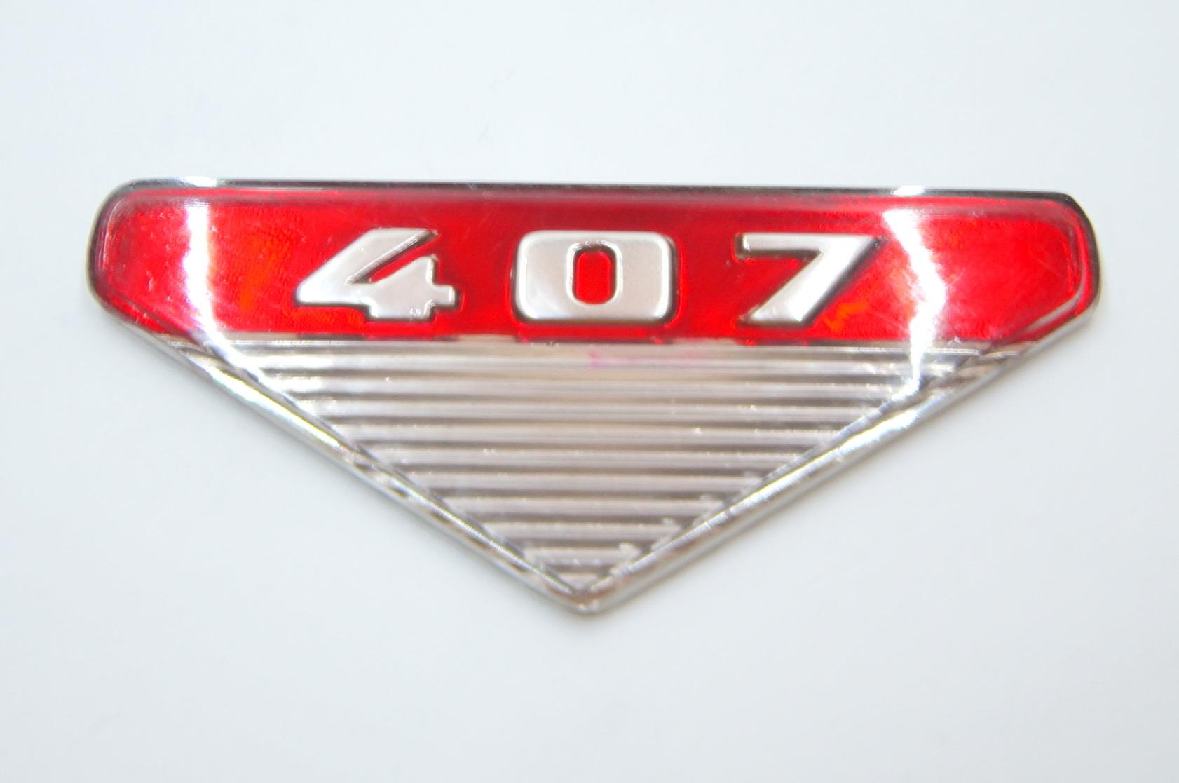 Вставки в эмблемы на крыльях Москвич 407