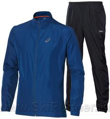 Костюм для бега Asics Woven blue 2017 мужской