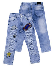 1303 джинсы блест