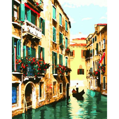 Венецианское умиротворение- раскраски  по номерам