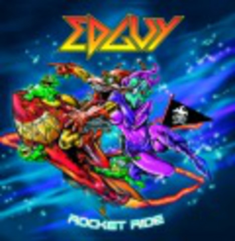 EDGUY   ROCKET RIDE +1 bonus track  2006