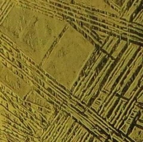 Позолоченный кулон из метеорита Муонионалуста
