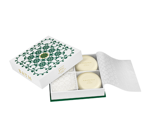 Amouage Epic woman soap 4x50гр