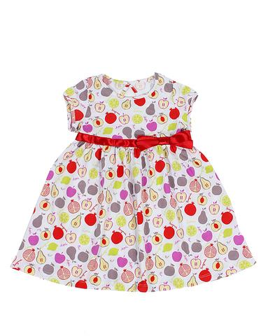 Basia Л364 Платье для девочки белое