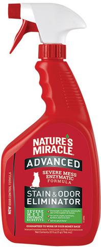 8in1 уничтожитель пятен и запахов от кошек NM Advanced с усиленной формулой, спрей 945 мл