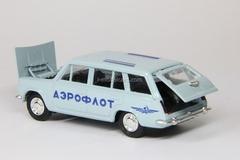 VAZ-2102 Lada Aeroflot blue Agat Mossar Tantal 1:43