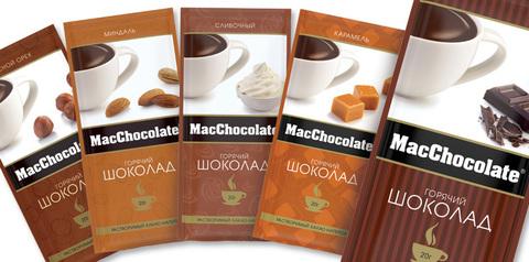 MacChocolate Сливочный 10 пак*20 гр.