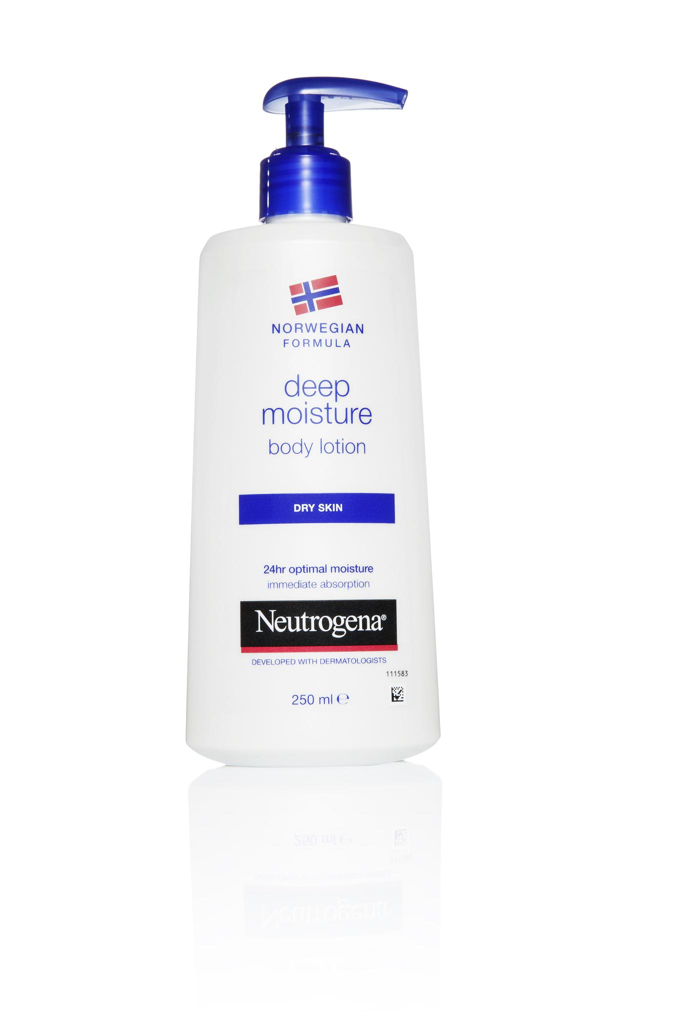 Neutrogena молочко Глубокое увлажнение 250 мл.