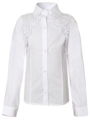 0339 блузка детская, белая