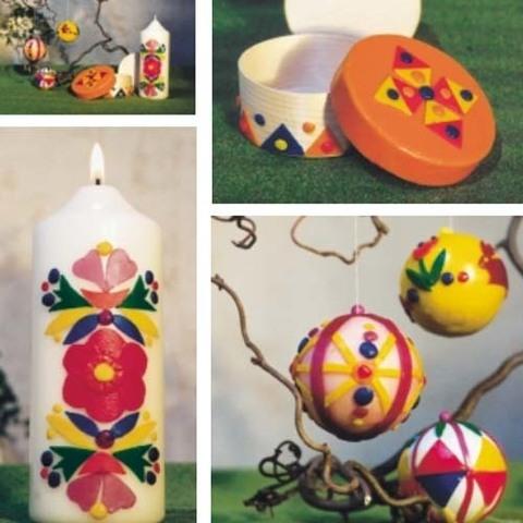 Набор для творчества Stockmar - воск для декорирования и шарик