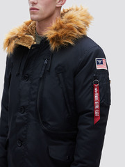 парка Alpha Industries N-3B Alpine Parka Black