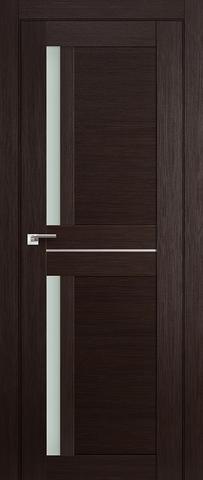 Дверь Profil Doors №19X-Модерн, стекло матовое, цвет венге мелинга, остекленная
