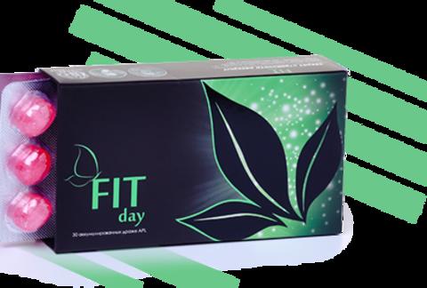 APL. Аккумулированное драже APLGO FIT-day для снижения веса 1 блистер