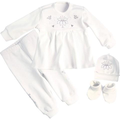 Одяг святковий, Лілея срібна  дівчинці молочний