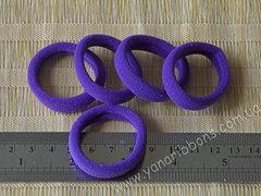 Резинки бесшовные темно-фиолетовые
