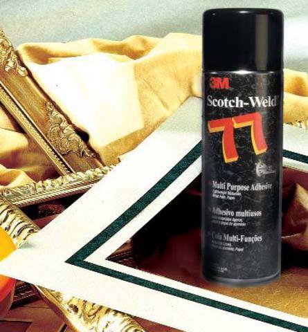 Клей-спрей 3М Scotch-Weld 77, универсальный, 500 мл