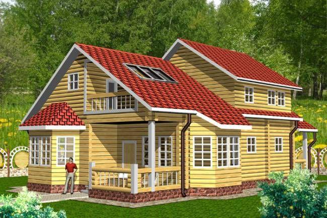 """Строительство домов из бруса и бревна Дом из бруса """"МД-Б-203"""" 203 кв.м. i-net_2__1_.jpg"""