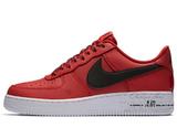 Кроссовки Мужские Nike Air Force 1 LV8 (GS) red / black