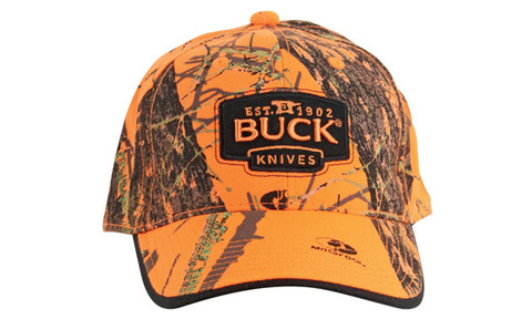 Бейсболка BUCK модель 89054 Mossy Oak Blaze Orange Camo