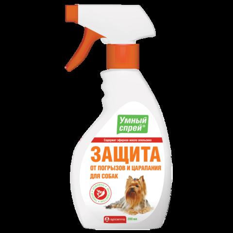 Apicenna Умный Спрей защита от царапания и погрызов для собак 200 мл