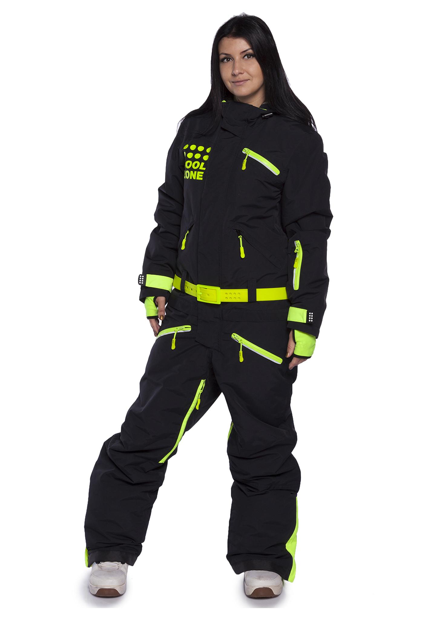 Женский утепленный сноубордический комбинезон Cool Zone Fox 3420
