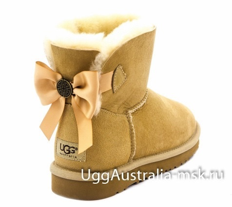 Ugg Mini Bailey Bow Chestnut