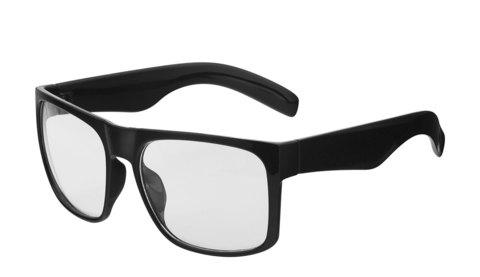 Очки с прозрачными линзами  Артикул: ОП. Вид полупрофиль.